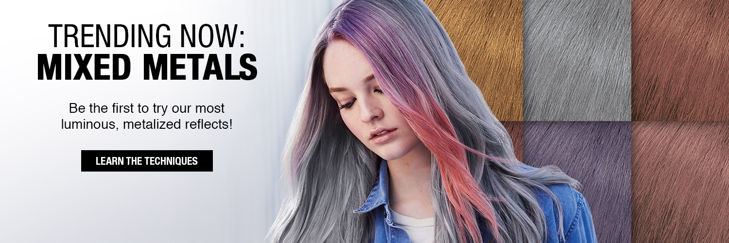 Metallic Hair Color Trends