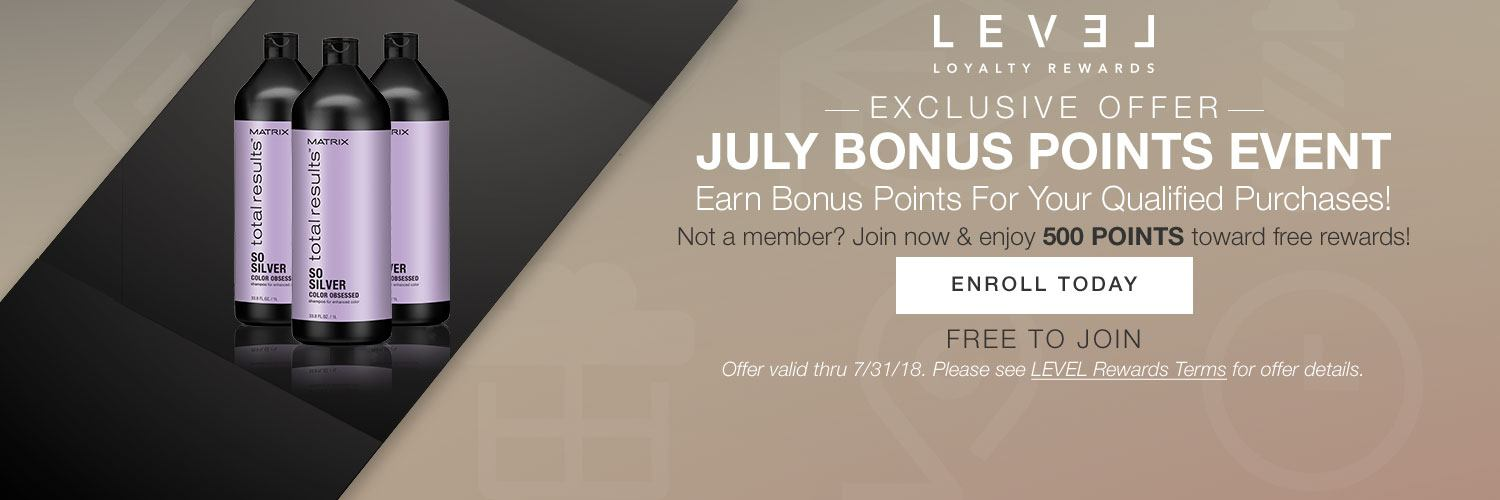 Level loyalty double points on total results sosilver