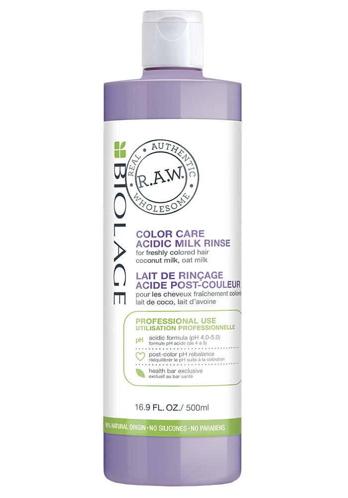 R.A.W. Color Care Acidic Milk Rinse 16.9 oz.